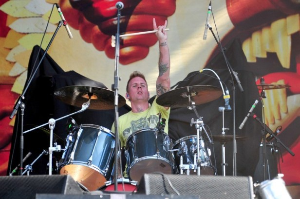 Mastodon - MaquinariaFest Chile 2012   Fotógrafo: Javier Valenzuela
