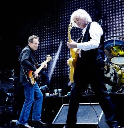 John Paul Jones y Jimmy Page