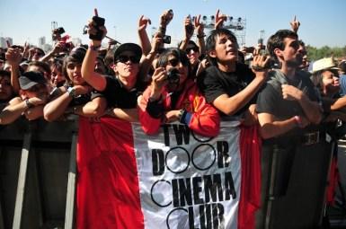 Two Door Cinema Club - Lollapalooza Chile 2013 | Fotógrafo: Javier Valenzuela