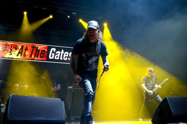 At the gates - Metal Fest Chile 2014 | Fotógrafo: Javier Valenzuela