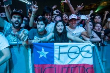 Foo Fighters en Chile 2015