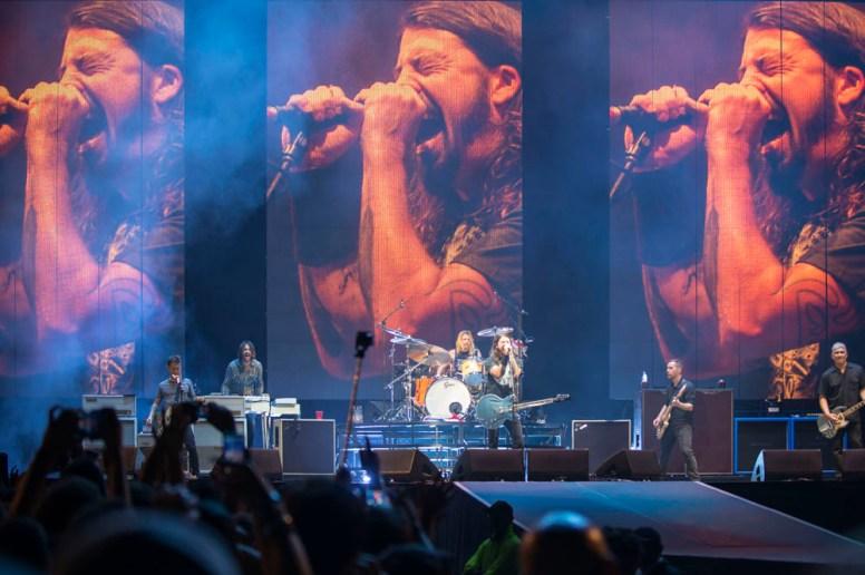 Foo Fighters en Chile 2015 | Fotógrafo: Javier Valenzuela