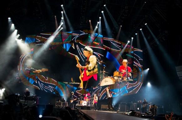 The Rolling Stones en Chile | Fotógrafo: Javier Valenzuela