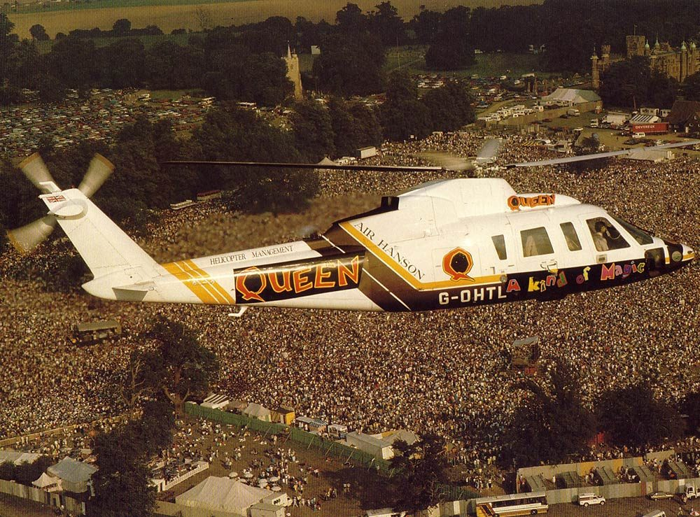 Queen Knebworth 1986