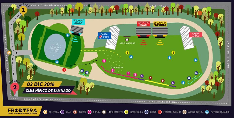 mapa de frontera festival 2016
