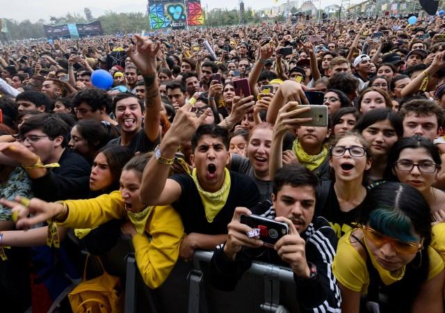 Público Lollapalooza Chile 2019 | Fotógrafo: Javier Valenzuela
