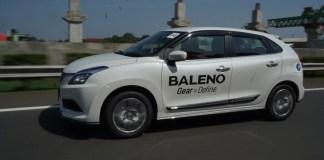 Test Drive Suzuki Baleno Hatchback