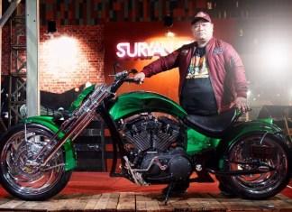 Suryanation Makassar Daulat Harley Sportster XL1200 Bergaya Pro Street