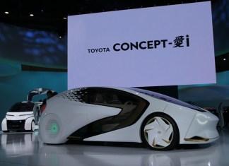 Toyota Concept-`i di TMS 2017