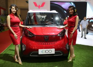 booth wuling giias