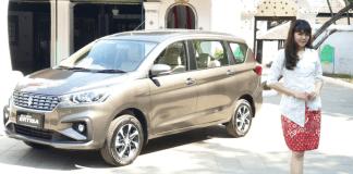 Penjualan Suzuki ertiga