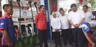 Presiden Jokowi resmikan biodiesel b30