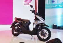 Mesin 110cc all new honda beat