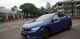 test drive performa new honda civic hatchback rs