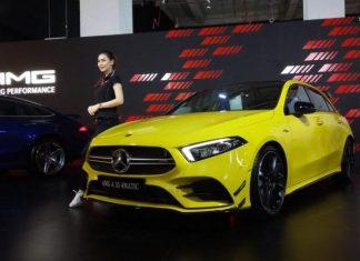 Lima model baru Mercedes-Benz