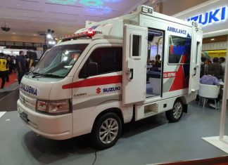 Suzuki Carry Ambulance GIICOMVEC