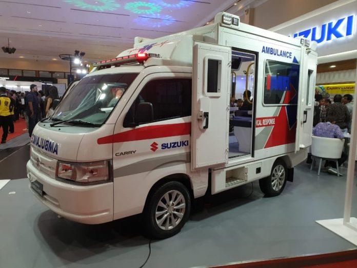 Suzuki Carry Ambulance GIICOMVEC