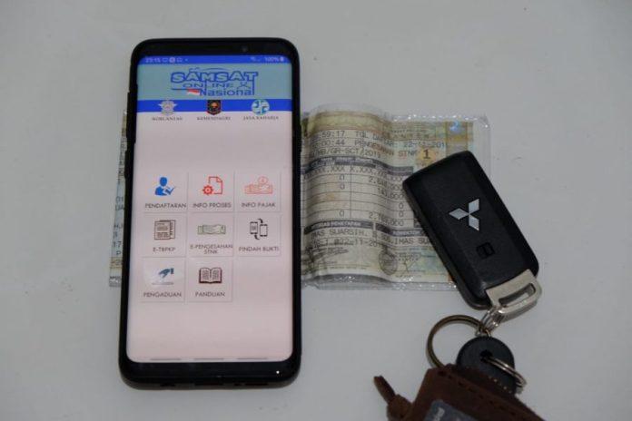 bayar pajak kendaraan online saat corona