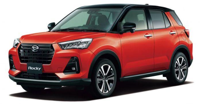 Daihatsu Rocky yang telah diluncurkan pada November 2019 lalu di Jepang