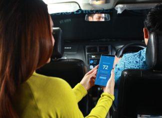Bayar taksi blue bird
