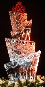 Wedding Cake Ice Sculpture
