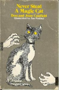 Never Steal a Magic Cat carti cu pisici