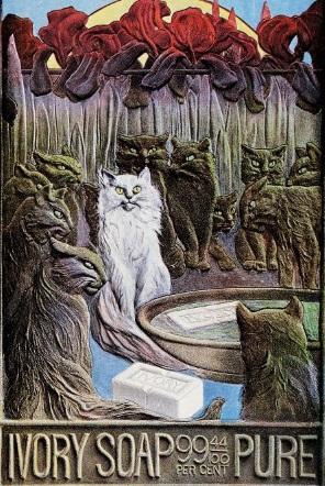 reclama Ivory pisici