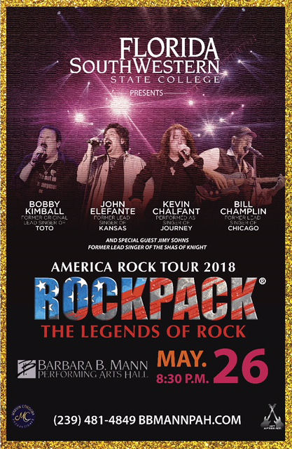 May 26, 2018 – ROCKPACK® in Fort Myers, Florida