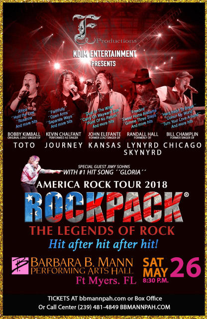 May 26, 2018 – ROCKPACK® in FT MYERS, FL