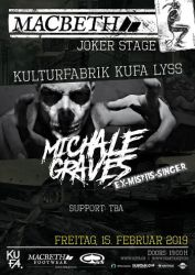 WIN Tickets Michale Graves (Ex-Misfits) & Band