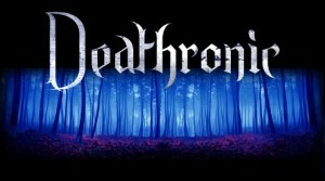DEATHRONIC - forest - blue - long