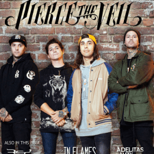 FREE DOWNLOAD OF NEW 'PIERCE THE VEIL' COVER ISSUE!