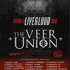 Round 2 Live & Loud Tour Dates With The Veer Union, Bobaflex, Artifas, and Bridge to Grace Announced