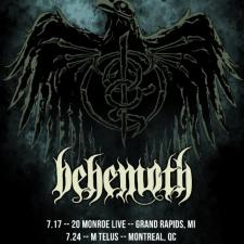 LAMB OF GOD Announces Select Headline Tour Dates with Support from BEHEMOTH