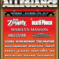 FESTIVAL ANNOUNCEMENT: Rock Allegiance 2017 Lineup