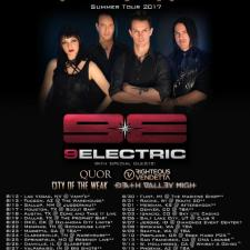Alt-Rockers 9ELECTRIC to Kick Off North American Headline Tour on August 12 in Las Vegas
