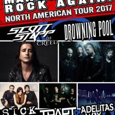 Scott Stapp headlines the Make America Rock Again tour