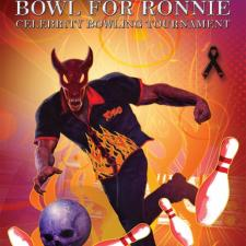 "The Third Annual ""Bowl For Ronnie"" Charity Bowling Party  Returns Friday, October 6th to Benefit the  Ronnie James Dio Stand Up and Shout Cancer Fund"