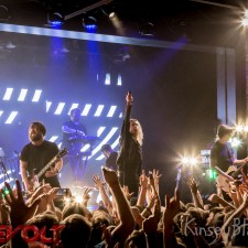 SHOW REVIEW/PHOTOS: UNDEROATH BIRMINGHAM, ALABAMA 4/30/18