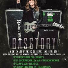 David Ellefson – Basstory in Portland, OR