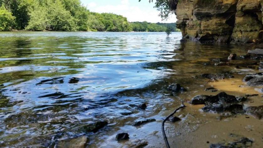 Devils Staircase Rock River Trail Ice Age Trail Janesville Wisconsin (4)