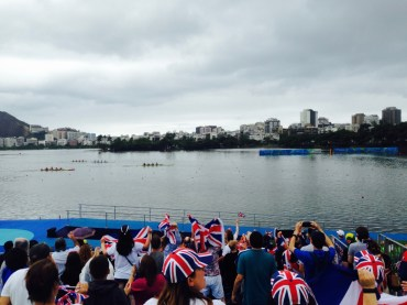 Lagoa- a magnificent setting for rowing- or a run around