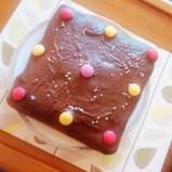 Birthday Smarties Cake