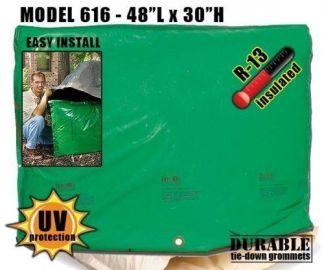 """Backflow Insulation Bag Blanket 48""""L x 30""""H DekoRRa 616 Backflow Pouch"""