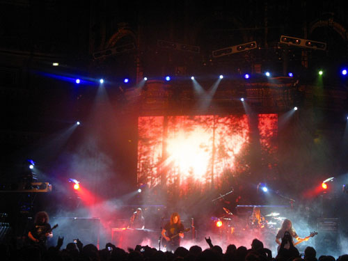 Opeth during Harvest at the Royal Albert Hall