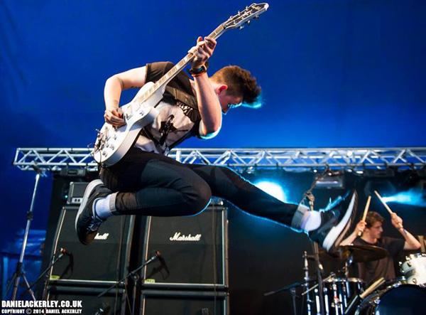 Max Raptor performing at Sonisphere Knebworth 2014 Photo by Daniel Ackerley
