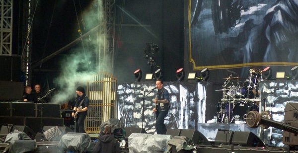 Volbeat on the Stephen Sutton stage at Download Festival 2014