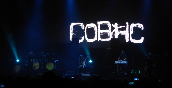 Children Of Bodom on stage at Wembley Arena November 2015