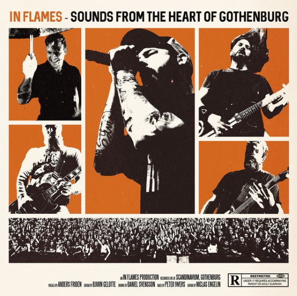 In Flames Sounds From The Heart Of Gothenburg DVD Cover