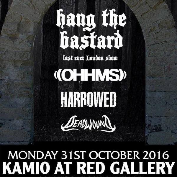Hang The Bastard Final Show Poster